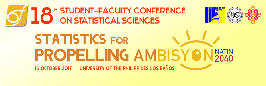 Students and faculty from the statistics community are invited!